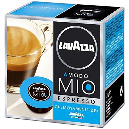 Lavazza A Modo Mio Café Espresso Cremoso Dek 16 capsules - Lot de 2