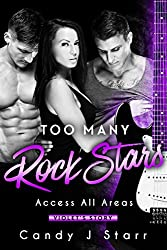 Too Many Rock Stars: Violet's Story (Access All Areas Book 1) (English Edition)