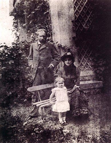 Das Museum Outlet-1880Anonyme Eugene Manet, Berthe Morisot ET Leur Fille Julie A Ästhetische Bougival-Poster Print Online kaufen (76,2x 101,6cm)