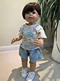 SN86NS Nouveau 70CM poupée garçon Artiste réaliste Dall poupée articulée modèle de vêtements pour Enfants poupée de Collection Chef D'Oeuvre de Haute qualité