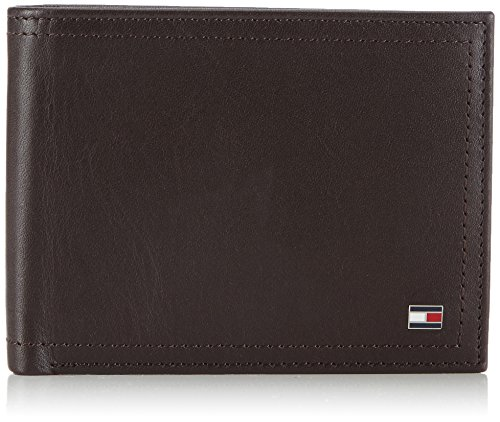 Tommy Hilfiger HARRY CC FLAP AND COIN POCKET BM56926276 Herren Geldbörsen 13x10x2 cm (B x H x T), Braun (COFFEE BEAN- EUR 212) (Coffee Bean-halter)