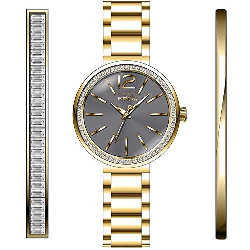 Invicta Angel Reloj de Mujer Cuarzo analógico Correa y Caja de Acero 29271