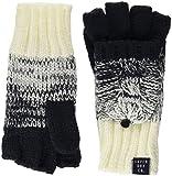 Superdry Damen Handschuhe Clarrie Cable Mittens, Blau (Denim Ombre Wa9), One Size (Herstellergröße: OS)