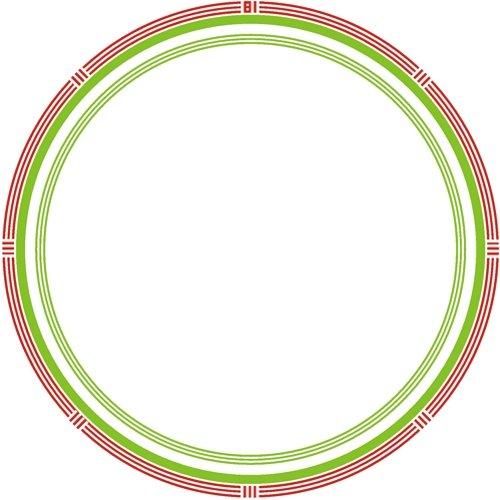 plato-dimetro-de-23cm-rojo-verde-simple-border-20unidades
