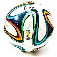 Turbo Sport Réplica de balón de fútbol FIFA 2014 Brazuca blanco