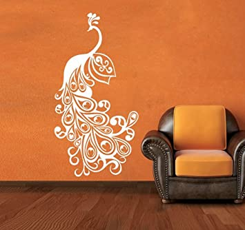 Buy Peacock Wall Sticker Decal Online At Low Prices In India   Amazon.in Part 79