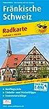 Fränkische Schweiz: Radkarte mit Ausflugszielen, Einkehr- & Freizeittipps sowie Mountainbike- und Rennradrouten, E-Bike-Verleih- und Ladestationen, ... GPS-genau. 1:100000 (Radkarte / RK)