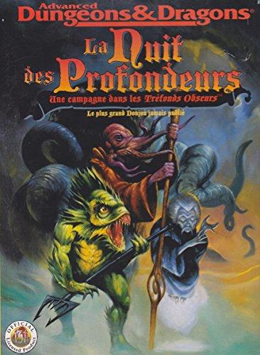 Advanced Dungeons & Dragons : La nuit des profondeurs, une campagne dans les tréfonds obscurs, le plus grand donjon jamais publié, Livre-Jeu