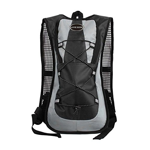 Generic 5 L Foldable Sports Backpack Hydration Pack Water Bladder. Great for Hiking – Running – Biking – Cycling