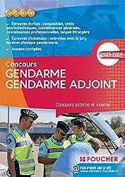 Gendarme Gendarme adjoint - Concours externe et interne - Nº65 - Edition 2015-2016