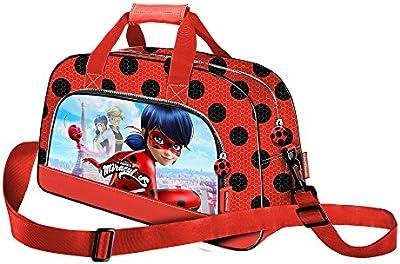 Karactermania Ladybug Marinette Bolsa de deporte, 45 cm, 15 litros, Rojo