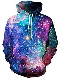 SamMoSon Unisex 3D Galaxie Druck Hoodies Kapuzenpullover Langarm Bunte  Pullover Kapuzenpulli Sweatshirt Kapuzenjacke 2018-Halloween 4274897961