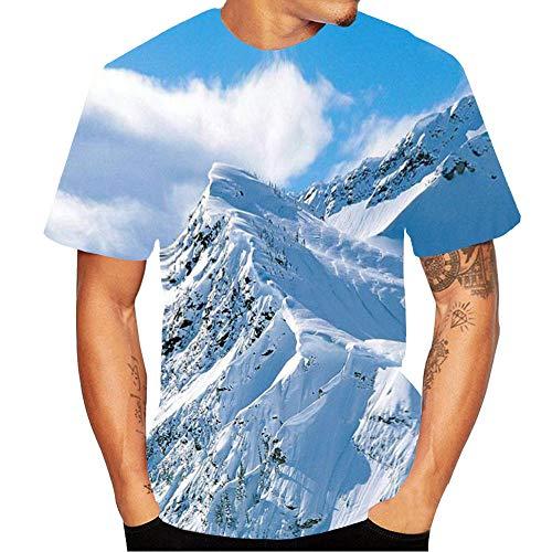 Oliviavan T-Shirt 3D Grafik Drucken Ärmellose T-Shirts Lustige Muster Sommer Weste Muskelshirt für Herren Fashion T-Shirt Casual Slim Shirt Sweatshirts