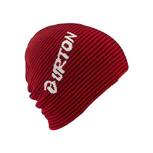Burton-Cappellino da ragazzo Marquee Beanie, Ragazzo, Mütze MARQUEE BEANIE, Process Red/True Blk, Taglia unica