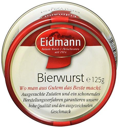 Eidmann Wurstkonserven Bierwurst, 12er Pack (12 x 125 g)