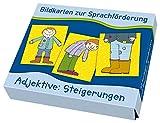 Adjektive: Steigerungen (Bildkarten zur Sprachförderung)