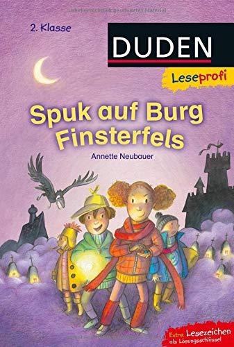 Leseprofi - Spuk auf Burg Finsterfels, 2. Klasse (DUDEN Leseprofi 2. Klasse) (Gruselgeschichten Ab 6 Halloween)