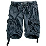 Alpha Industries SHORT 191200_136_34 Grey Black
