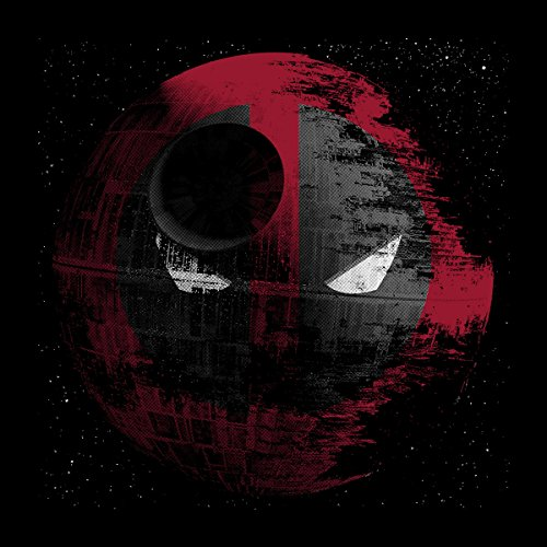 Deadstar Death Star Deadpool Star Wars Men's Vest Black