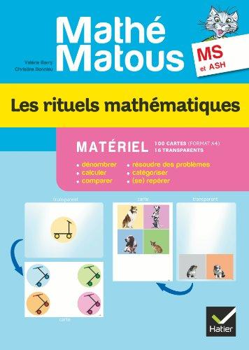 Mathé-Matous MS, éd. 2012 - Les rituels mathématiques, Matériel