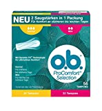 o.b. Tampons ProComfort Selection Normal und Mini 56 Stück –
