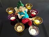 TiedRibbons® Ganesha Idol with Tealig...