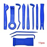 Providethebest 11pcs Auto Autoradio-Panel-Innent¨¹r-Clip-Panel-Tool Trim Armaturenbrett Entfernen ?ffnungswerkzeug Set DIY Repair Tool Kit Blau