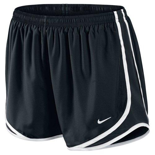 Dri-fit Tempo Running Shorts (Nike Damen Tempo Shorts 716453, Black/White, S)