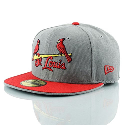 super popular 6be0e fb126 New Era St. Louis Cardinals Jersey Logo 59FIFTY Fitted MLB Cap 7 1 8
