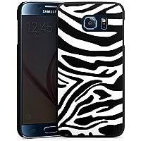 Samsung Galaxy S6 Hülle Case Handyhülle Zebra Animal Dschungel