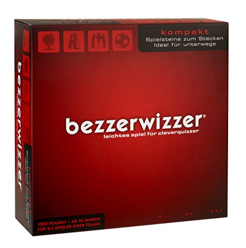 Mattel Spiele X3909 - Bezzerwizzer Kompakt, Quizspiel
