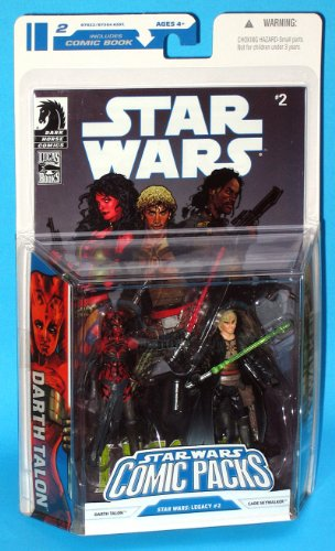 Darth Talon & Cade Skywalker Star Wars Comic Pack von Hasbro (Star Wars Darth Talon)