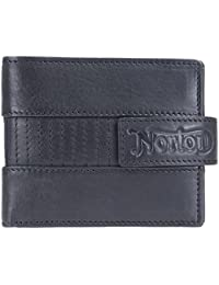 Full Grain – Funda de piel tipo cartera de Norton