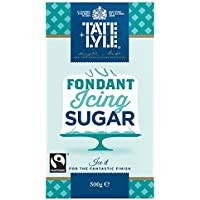 500 g de Tate & Lyle Fairtrade pasta de azúcar Azúcar en polvo