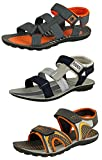 #3: Tempo Men's Combo of 3 Floaters Sandals