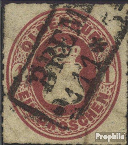 Prophila Collection Oldenburg 17A Pracht 1862 Wappen (Briefmarken für Sammler)