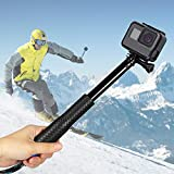 Innoo Tech Selfie Stick f�r Action Cam, Erweiterbar Self Portrait Wasserdicht Aluminium Selfie Stick Pole Handheld Monopod Pole f�r Action Cam, ideal f�r Surfen, Ski, Tauchen, Reise Bild