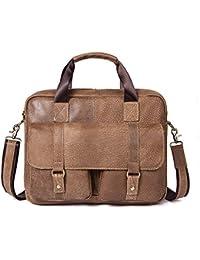 fda389affbfeb LBYMYB Herren Tasche Mode Casual Business Aktentasche Herren Umhängetasche  Messenger Bag Herren Ledertasche