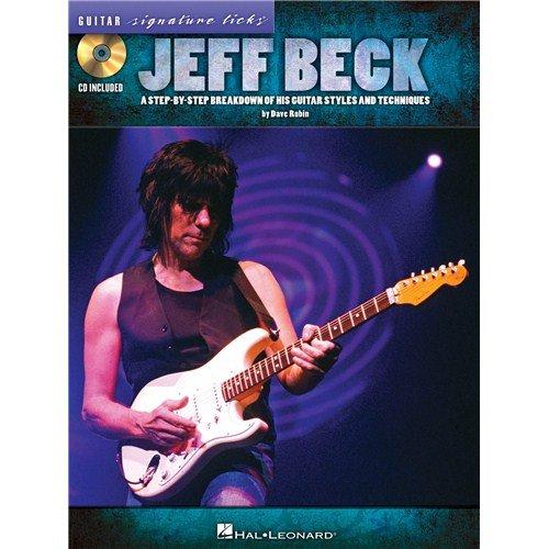 Jeff Beck: Guitar Signature Licks. For Gitarre, Grifftabelle für Gitarre