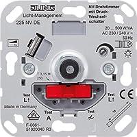 Jung 225NVDE Variateur rotatif avec bouton push/push