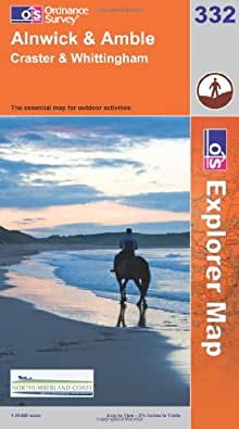 Alnwick and Amble, Craster and Whittingham (OS Explorer Map)