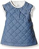 Petit Bateau Baby - Mädchen Kleid ROBE MC, Einfarbig, Gr. 56 (Herstellergröße: 1m/54cm), Blau (JEAN 69)