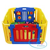 Best Baby Play Pens - MCC Plastic Baby Playpen with Activity panel Review