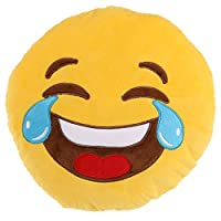 Offcial Emoticon Crying Laughter Eyes Cushion Pillow Super Cosy and Soft