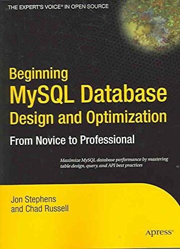 Beginning Mysql Database Design And Optimization From Novice To