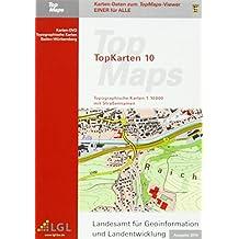 Baden-Württemberg Top 10 Ausgabe 2014: Karten-DVD. Topographische Karten 1 : 10 000 mit Straßennamen