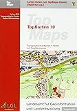 Baden-Württemberg Top 10 Ausgabe 2014: Karten-DVD. Topographische Karten 1 : 10 000 mit Straßennamen -