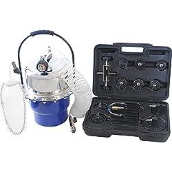 Purgeur de frein pneumatique Purgeur à air comprimé (5 litres) avec Régulateur de pression et Soupape de sécurité