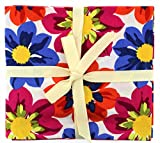Stoff Freiheit Flower Power Fat Quarter Bundle, mehrfarbig