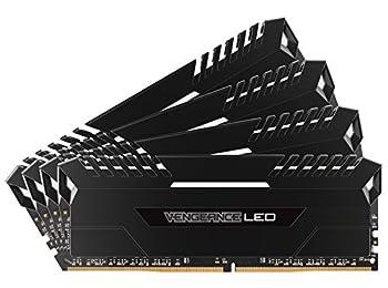 Corsair Vengeance 64GB (4x16GB) DDR43000MHz C16XMP 2.0Memory Enthusiast LED Lighting (LED) CMU64GX4M4D3000°C16with White LED Lights